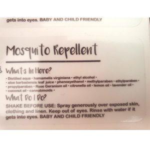 mosquito-repellant